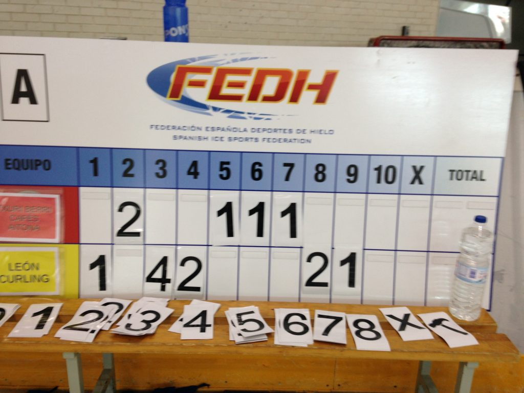 León Curling 10-5 Txuri Berri Cafés Aitona